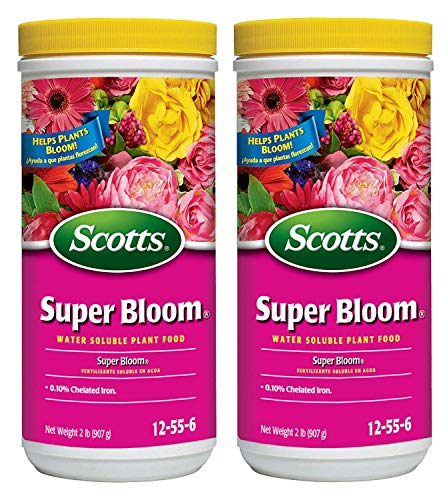 (Scotts 110500 Super Bloom Water Soluble Plant Food, 2-Pound (2-(Pack)))