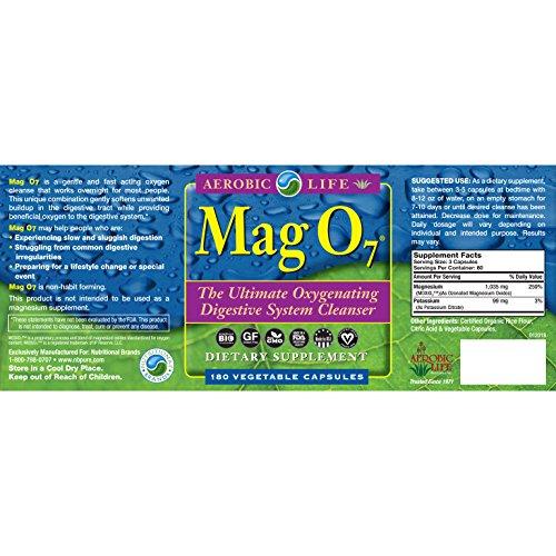 Aerobic Life Mag O7 Oxygen Digestive System Cleanser