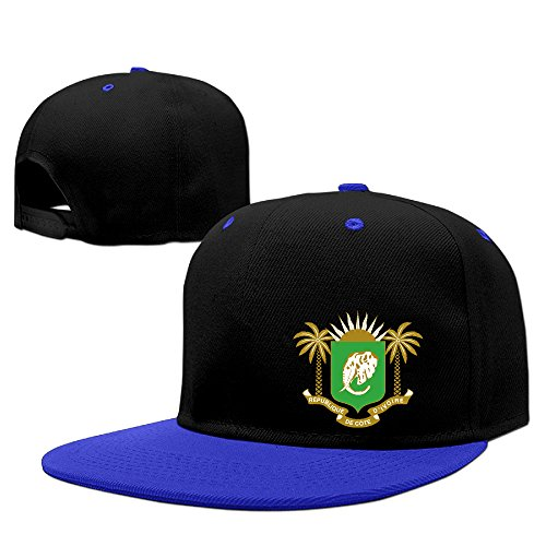 Coat Of Arms Of Ivory Coast= Cotton Adult Hip-hop Hat Snapback Cap -