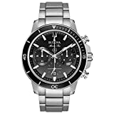 Bulova 96B272 Mens MARINE STAR Chronograph Watch w/ Date