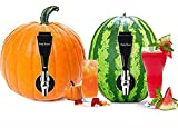 FruityFaucet Pumpkin Watermelon Keg Tapping Kit- PREMIUM CORING TOOL INCLUDED- Turn Pumpkins, Watermelons into Fruity Kegs- Great for Home brewing, Cocktails, Beer, Beverages, Halloween Party.