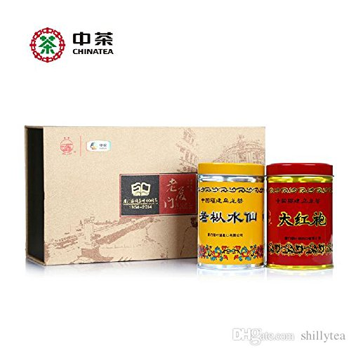 150g Top Grade Chinese Oolong Dahongpao tea and Narcissus tea good choice for gift by FOOD CO