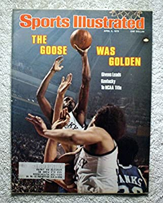"""Jack """"Goose"""" Givens - Kentucky Wildcats - 1978 National Champions! - Sports Illustrated - April 3, 1978 - Duke - College Basketball - SI"""
