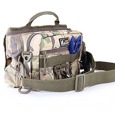 Fishing Tackle Bag Portable Outdoor Shoulder Fishing Bag Rod Bags