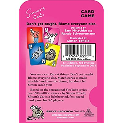 Simon's Cat Card Game: Toys & Games