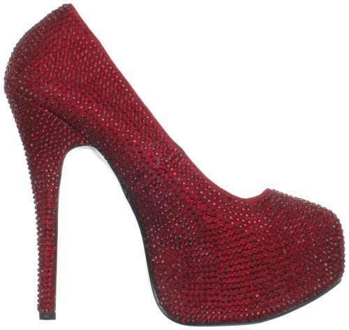 Bordello Red Ruby 6 UK 39 06r Rs Satin Teeze Fqr1zF