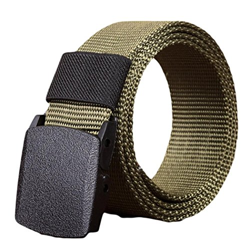 CSSD Men Women Fashion {Automatic} {Nylon Belt} {Buckle} {Military Fans} {Tactical Canvas Belt} (120, (Female Army General Costume)