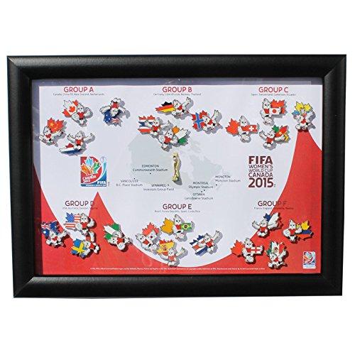 ●日本正規品● FIFA女子W杯2015 オフィシャル 額入り ピンバッジセット(出場24ヶ国+3Dトロフィー)【FIFA B01BAG6AIS Women's World Cup Canada Women's Canada 2015】 B01BAG6AIS, 最新デザインの:225e57b2 --- mcrisartesanato.com.br