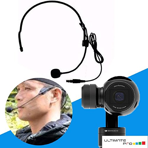 Review Head Microphone Compatible for