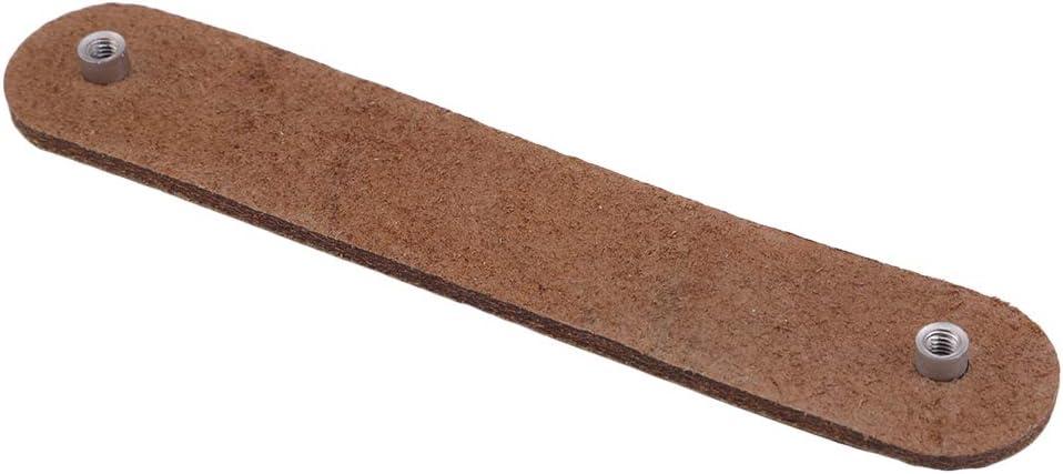 2.5cm Lnlyin En Cuir Meubles Poign/ée De Porte Poign/ée Poign/ée Bouton Pour Portes Armoires Armoires Valise,Brown 8006-96,14