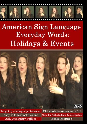American Sign Language Everyday Words: Activities & Events ()