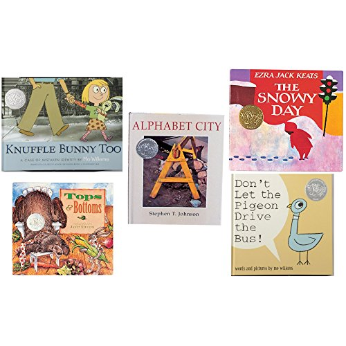Constructive Playthings BOK-108 Caldecott Medal Books of 5 Hardcover Titles, Grade: Kindergarten to 3, Set of 2 by Constructive Playthings