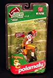 McFarlane Toys NCAA College Football Series 3 Troy Polamalu USC Trojans / Pittsburgh Steelers - VARIANT - White Jersey Collector Level BRONZE