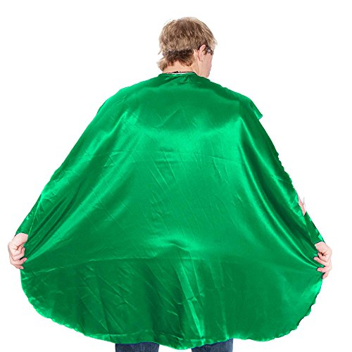 Adult Superhero Cape For Men | Everfan Superhero Capes For Adults | Adult Costume Cape | 100% Polyester Satin Super Hero Cape