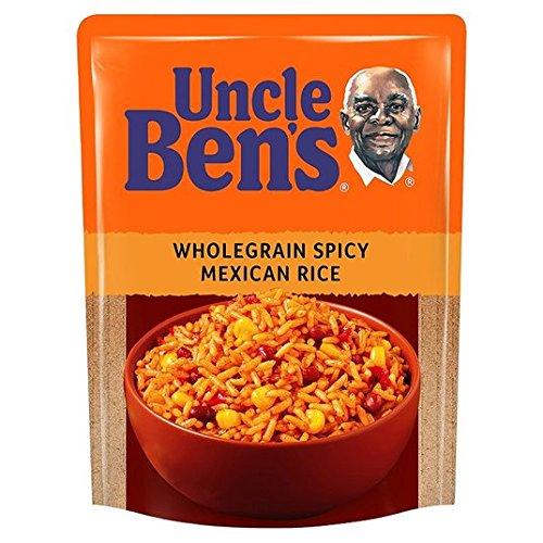 Uncle Bens Micro arroz integral 250g picante mexicana