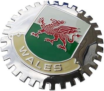Wales car Grill Badge Emblem Welsh