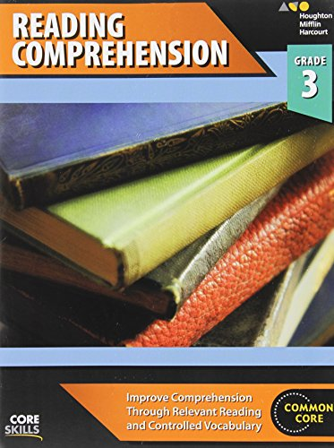 Steck-Vaughn Core Skills Reading Comprehension: Workbook Grade 3