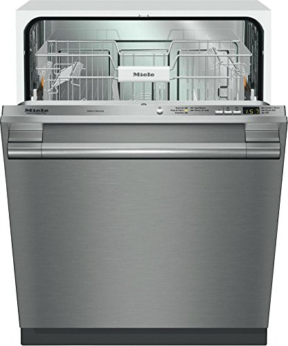 Miele Futura Classic Plus G4975SS / G4975VISF Fully Integrated Dishwasher, 5 Wash Cycles, FlexiCare Plus Basket, ComfortClose Door, Delay Start, 16 Place Setting, 46 dBA Stainless Steelss by Miele