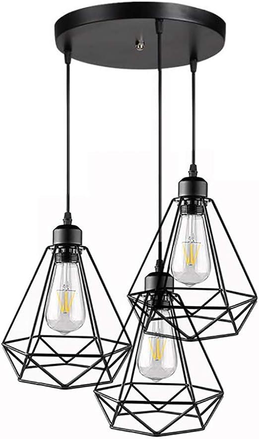 Lustre Industrial Pendule Luminaire Lampe suspension Lustre Lampe de salon
