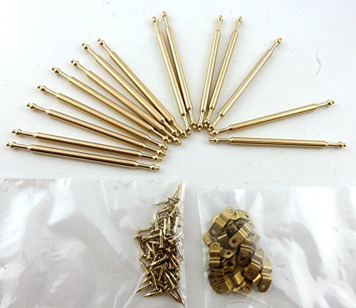 Melody Jane Dolls Houses House Miniature Staircase Runner Carpet Accessory 15 Brass Stair Rods