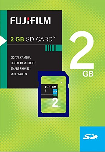 Fujifilm 2 GB SD Flash Memory Card by Fujifilm
