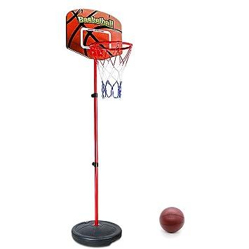 Symiu Canasta Baloncesto Ajustable Juegos de Deporte Al Aire Libre ...