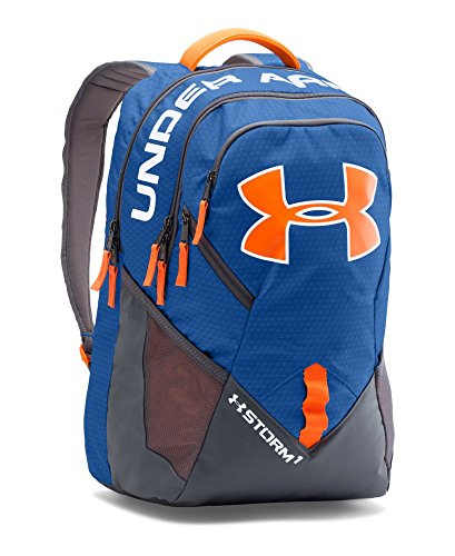 Under Armour Storm Big Logo IV Backpack, Royal (401), One Size