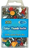 DDI - Color Thumbtacks 200 count (1 pack of 48 items)