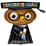 Congrats Grad Owl 26in Balloon, Health Care Stuffs