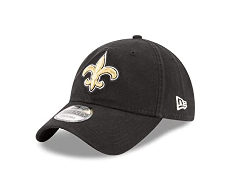 competitive price aa7d0 551a6 New Era Men s New Orleans Saints 9TWENTY Core Black Hat