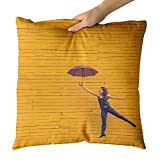 Best Electronic Arts Friends Rooms - Westlake Art Decorative Throw Pillow - Wallpaper Funny Review