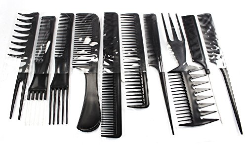 Hairdressing Stylists Barbers Kämme 10ers Set