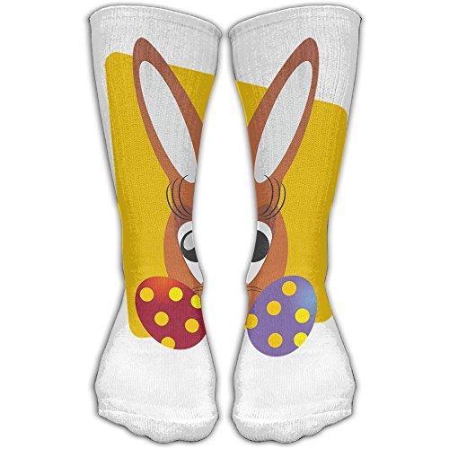 Easter Bunny Don't Exist Been Cancelled Women & Men Socks Soccer Sock Sport Tube Stockings Length 11.8Inch -