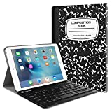 Fintie iPad Mini 4 Keyboard Case - Blade X1 Slim Shell Lightweight Cover w/Magnetically Detachable Wireless Bluetooth Keyboard for Apple iPad Mini 4 (2015 Release), Composition Book
