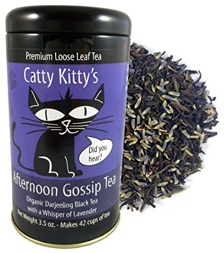 Catty Kittys Afternoon Gossip Tea (3.5 Oz Tin)