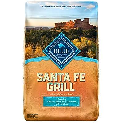 Blue Buffalo Blue Santa Fe Grill Natural Adult Dry Dog Food with USA Farm-Raised Chicken