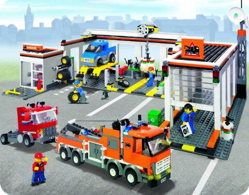 Lego City Garage : Re edd s garage ein werkstattprojekt lego bei steine