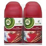 Air Wick 82680 Freshmatic Ultra Spray Refill Apple Cinnamon Medley Aerosol 6.17oz 2/Pk 3Pk/Ct