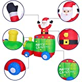 AsterOutdoor 6ft Christmas Decorations Inflatable