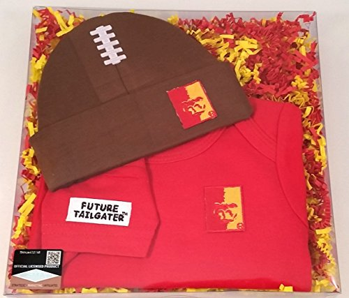 State Cap Pittsburg (Future Tailgater Pittsburg State Football Cap Onesie Baby Set)