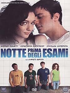 Night Before Exams ( Notte prima degli esami ) [ NON-USA FORMAT, PAL, Reg.2 Import - Italy ]