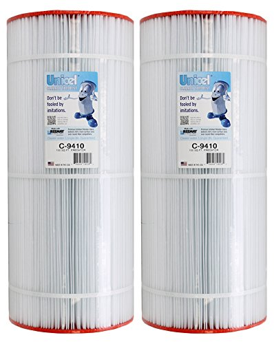 2) Unicel C-9410 100 Sq Ft Pentair Clean Clear Predator Cartridge Filter R173215 by Unicel