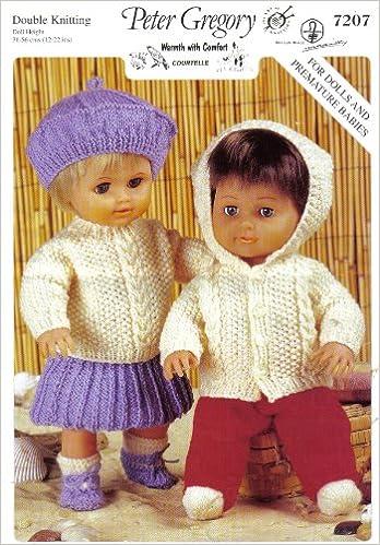 Peter Gregory Dolls Clothes Knitting Pattern Jacket Socks