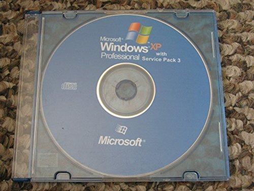 Windows XP Professional SP3 For Refurbished PCs Install Disk (Windows Disk Reinstallation)