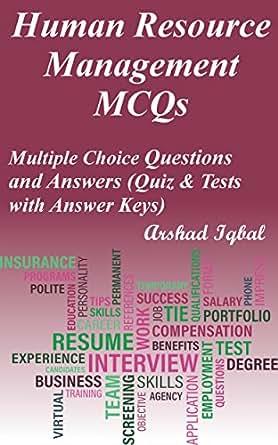 amazon com human resource management mcqs multiple choice