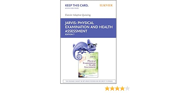Elsevier adaptive quizzing for jarvis physical examination and elsevier adaptive quizzing for jarvis physical examination and health assessment retail access card 7e 9780323310581 medicine health science books fandeluxe Images