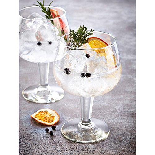 (Durobor Gusto Spanish Balloon Copa Gin and Tonic Glasses - 660ml - Pack of 2)