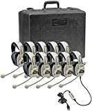 Califone 3066USB-10 Multimedia Headset Kit (10 Headsets with Storage Case)