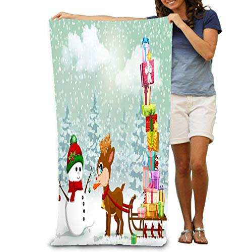 (Bath Towel Beach Towel Comfortable Quick Drying Bath Towels for Home Bathroom Pool and Gym 31