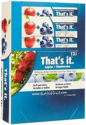 That's It Fruit Bars - Apple & Blueberry - 1.2 OZ
